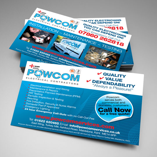 electrical contractor flyers
