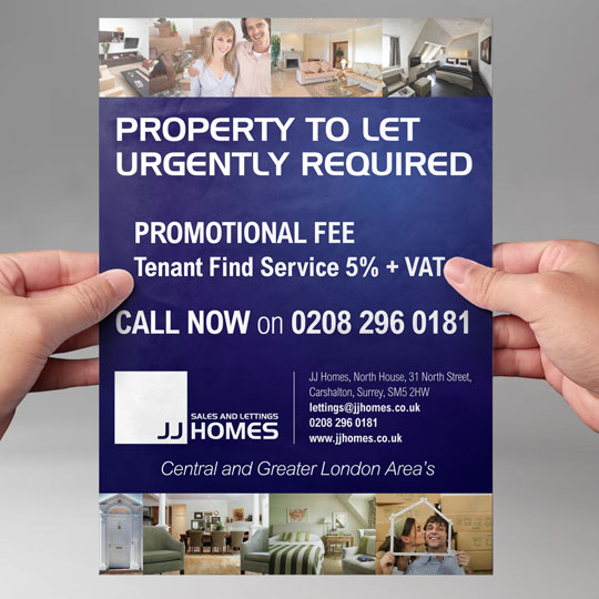lettings agents leaflets