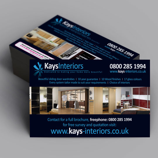 interior designer flyers