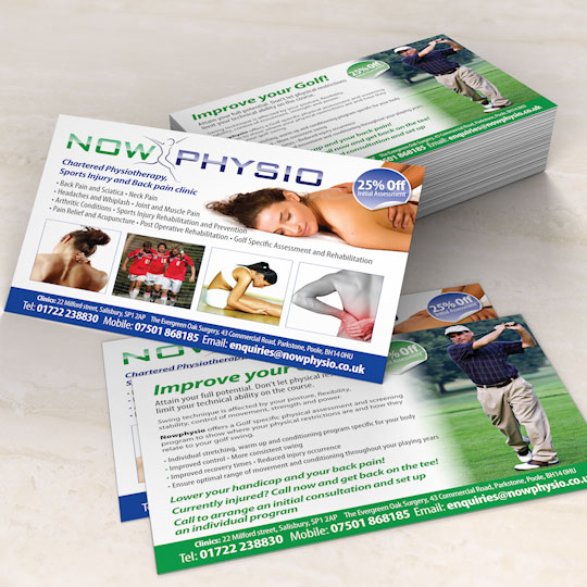 physiotheraphy leaflets