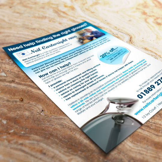optician leaflets